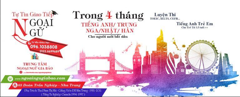 Top 10 Trung tâm tiếng Anh ở Nha Trang 2021
