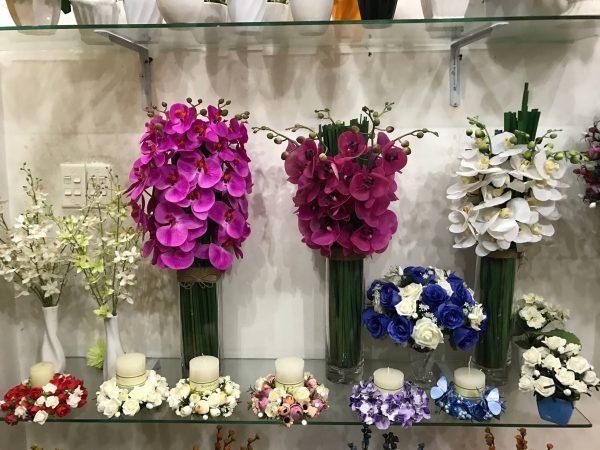 Top 10 shop hoa giả đẹp nhất TPHCM 2021