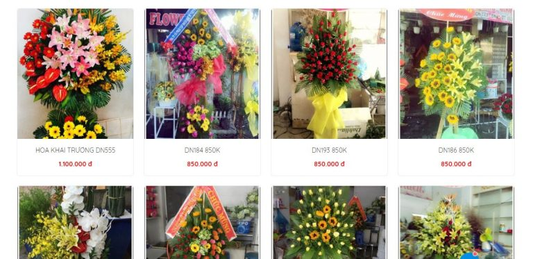 Top 10 shop hoa tươi nổi tiếng tại Đà Nẵng 2021