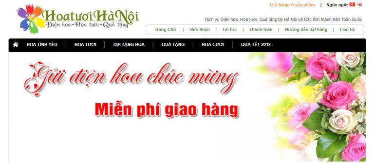 Top 10 shop hoa tươi nổi tiếng tại Hà Nội 2021