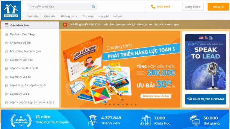 Top 10 website khóa học online tốt nhất Việt Nam 2020