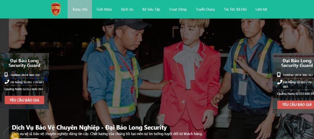 Công ty bảo vệ Đại Bảo Long Security Đà Nẵng