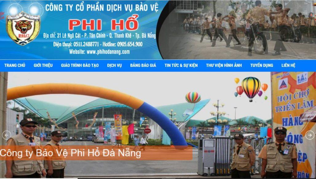 Công ty bảo vệ Phi Hổ Đà Nẵng