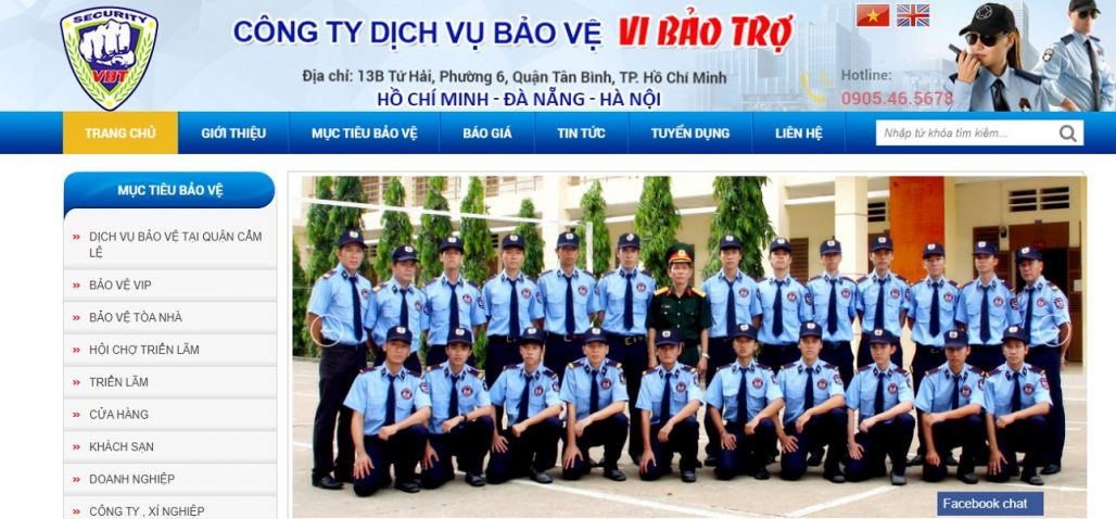 Công ty Bảo Vệ Vi Bảo Trợ Đà Nẵng