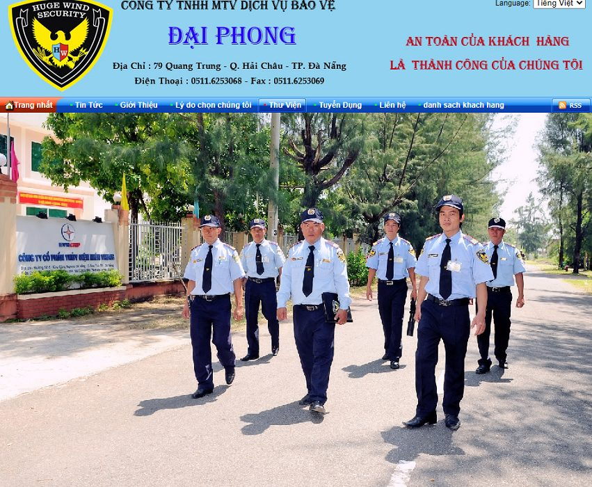 Công Ty TNHH Dịch Vụ Bảo Vệ Đại Phong Đà Nẵng