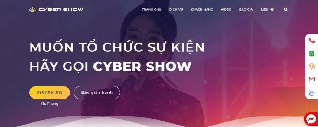 Công ty tổ chức sự kiện Cyber Show