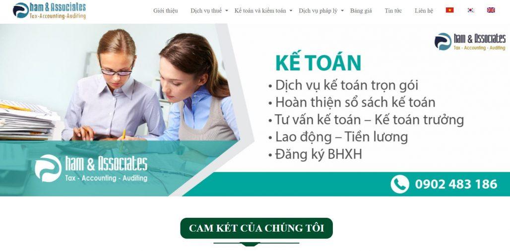 Công ty kế toán Phạm và cộng sự