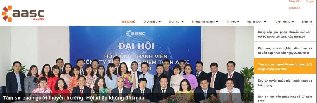 Công ty kiểm toán aasc