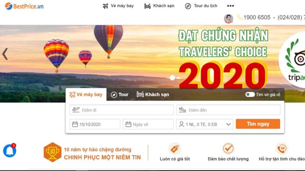 TOP 10 WEBSITES ĐẶT TOUR DU LỊCH UY TÍN NHẤT VIỆT NAM 2021