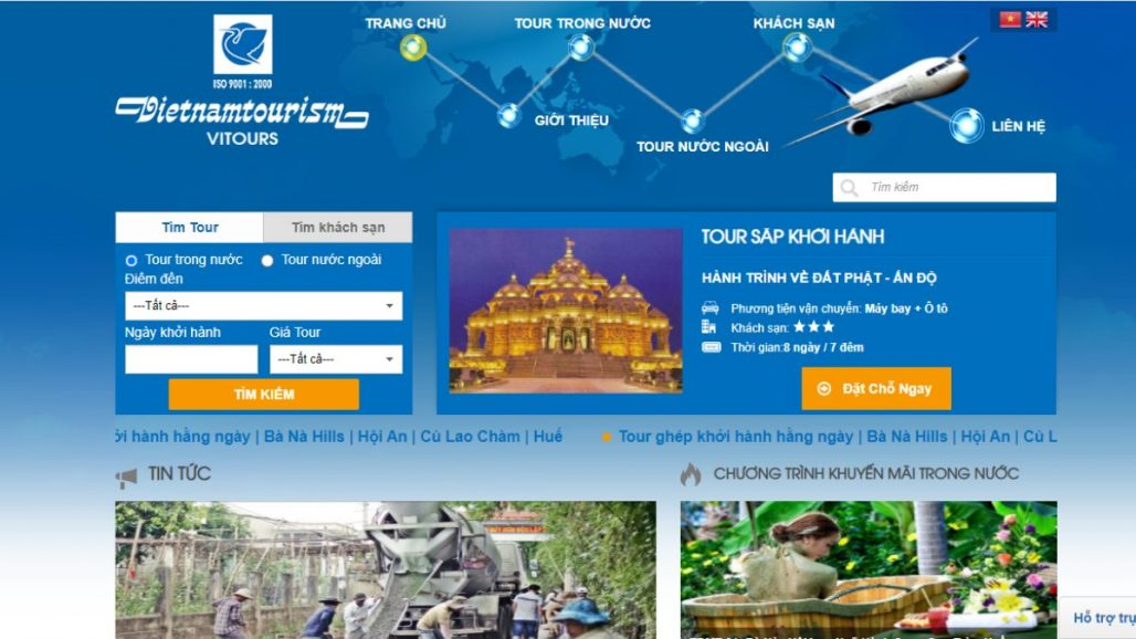 Top 10 công ty du lịch uy tín tại Việt Nam 2021