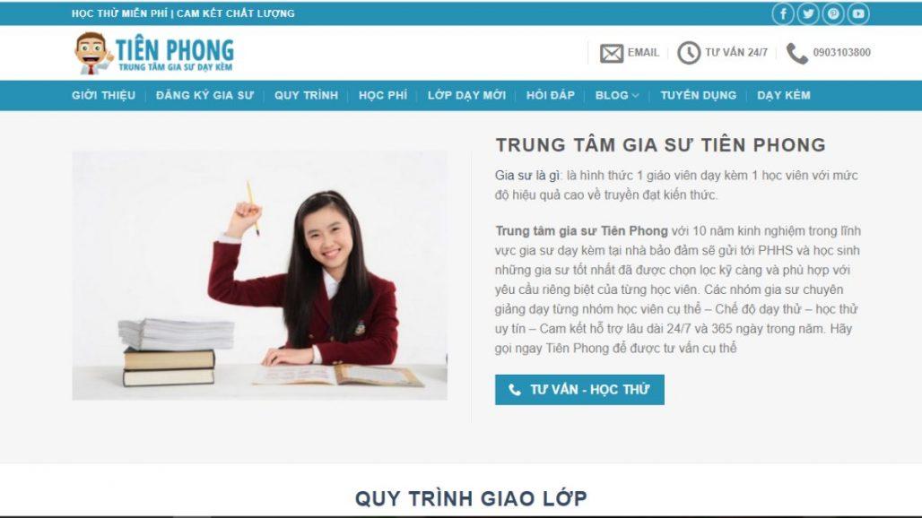 TOP 10 TRUNG TÂM GIA SƯ UY TÍN NHẤT TẠI TPHCM 2021