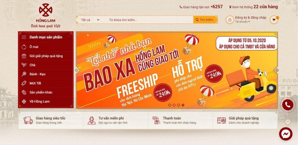 Công ty cung cấp quà tết cho nhân viên Ô mai Hồng Lam
