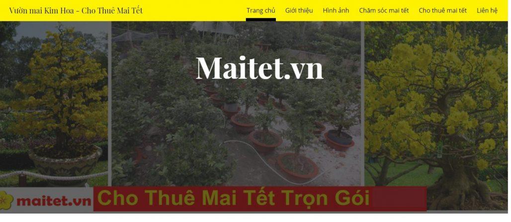 Công ty cho thuê mai ngày tết Maitet.vn