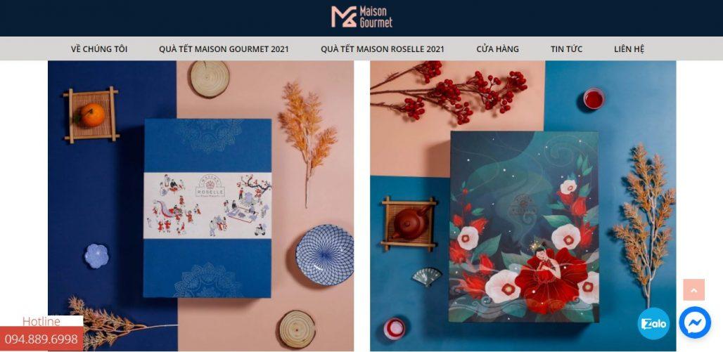 Công ty cung cấp giỏ quà tết cho doanh nghiệp Maison Gourmet