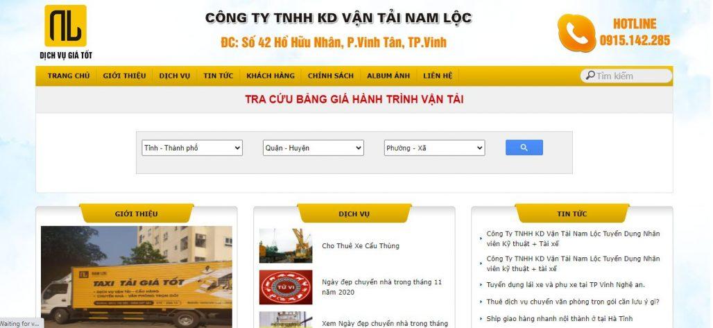 Công ty chuyển nhà trọn gói - Vận tải Nam Lộc