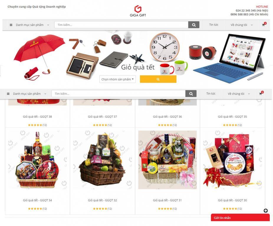 Công ty cung cấp giỏ quà tết cho doanh nghiệp Giga Gift