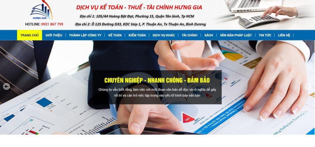 Dịch vụ thành lập công ty KẾ TOÁN THUẾ HƯNG GIA
