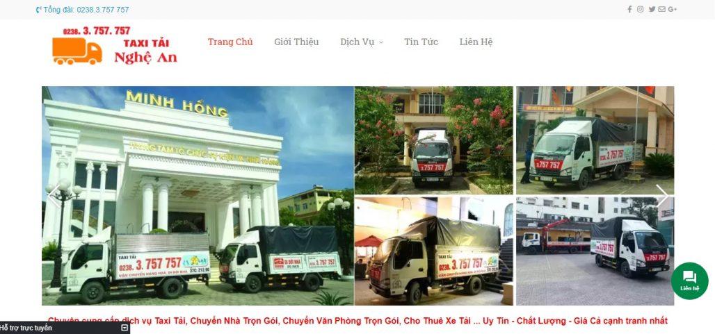 Công Ty Chuyển Nhà Trọn Gói - Taxi Tải Nghệ An