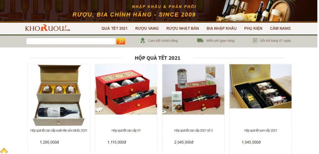 Công ty cung cấp giỏ quà tết cho doanh nghiệp Vinacom