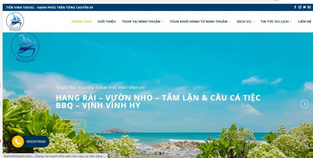 Công ty TNHH Thương Mại Du lịch Tiến Vinh Ninh Thuận (TIẾN VINH TRAVEL)