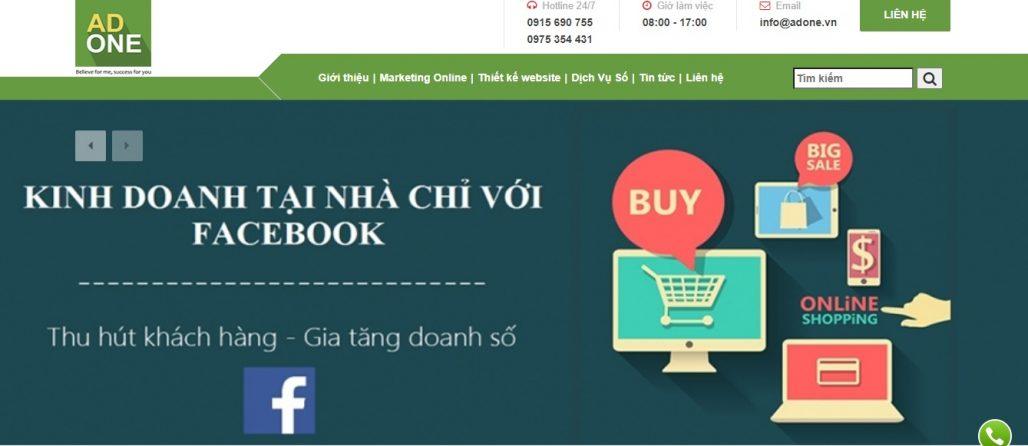 Công ty chạy quảng cáo Facebook uy tín AdOne