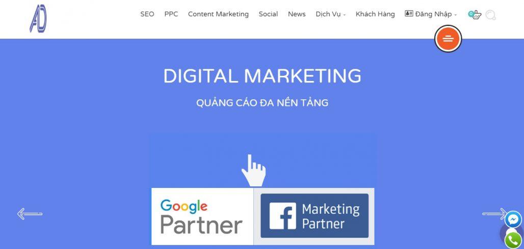 Công ty chạy quảng cáo Facebook Adtado Digital