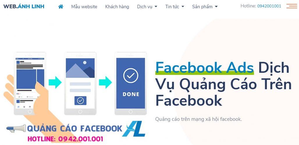 Công ty chạy quảng cáo Facebook Ánh Linh