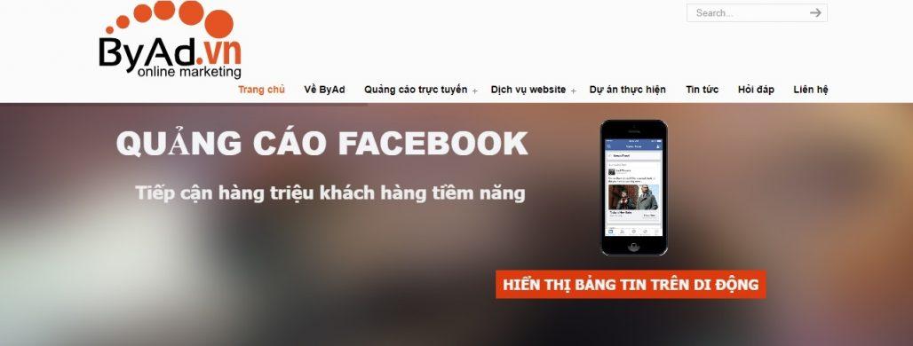 Công ty chạy quảng cáo Facebook BYAD.VN