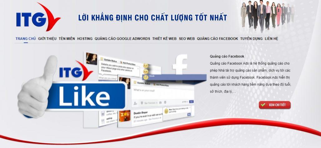 Công ty chạy quảng cáo Facebook ITG