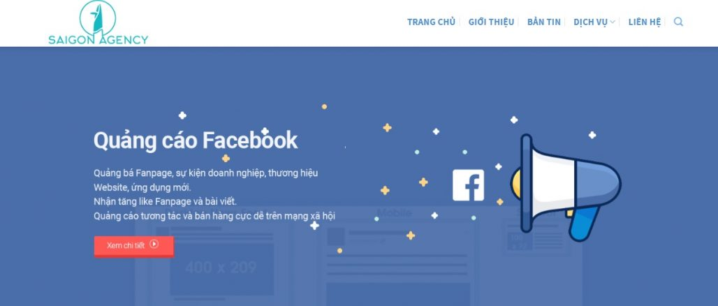 Công ty chạy quảng cáo Facebook Sài Gòn Agency