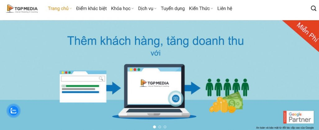 Công ty chạy quảng cáo Facebook TGP Media