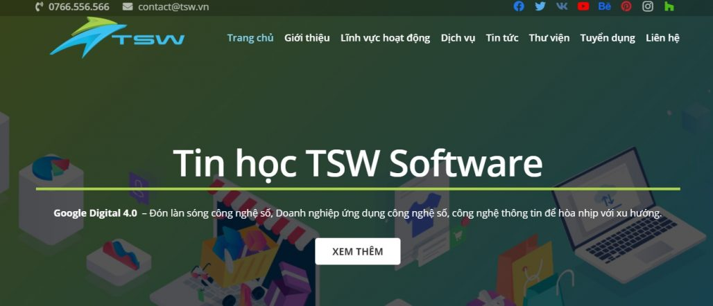 Công ty chạy quảng cáo Facebook TSW