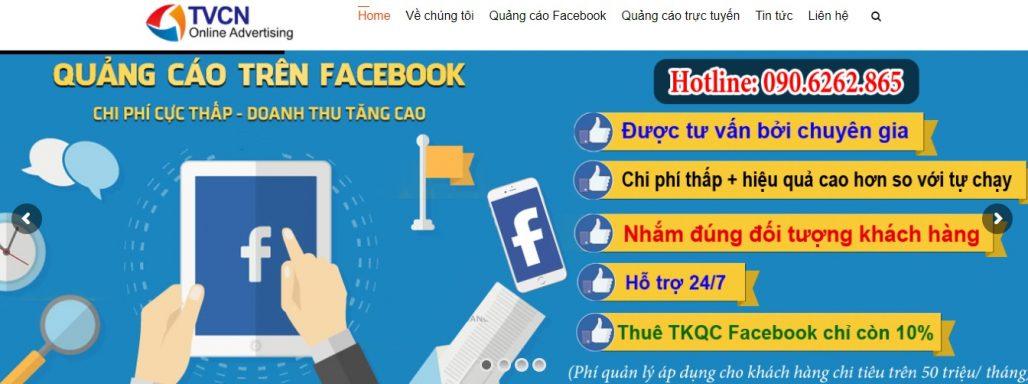 Công ty chạy quảng cáo Facebook TVCN