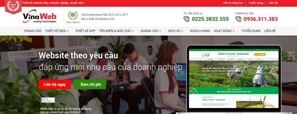 Công ty chạy quảng cáo Facebook Vina Web