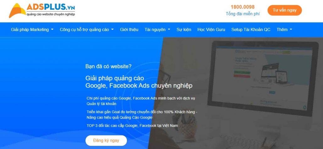 Công ty chạy quảng cáo Google Adwords Ads Plus