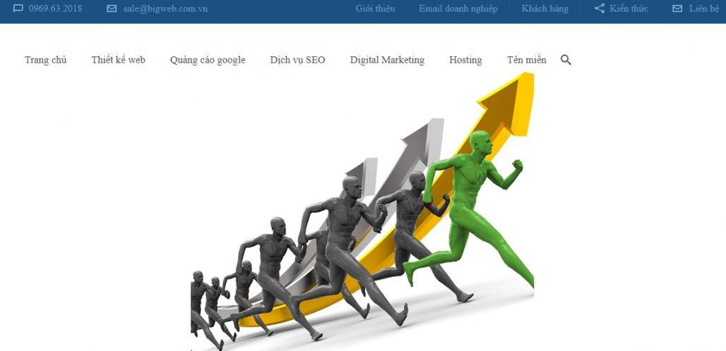 Công ty chạy quảng cáo Google Adwords Big Web