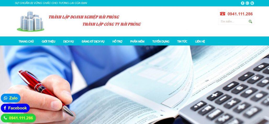 Dịch vụ thành lập công ty THÀNH LẬP DOANH NGHIỆP HẢI PHÒNG