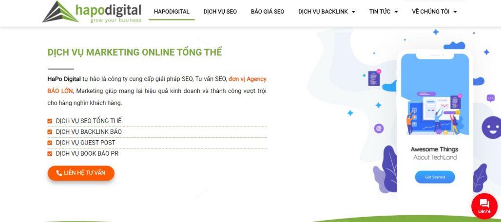 Dịch vụ guest post HAPO Digital
