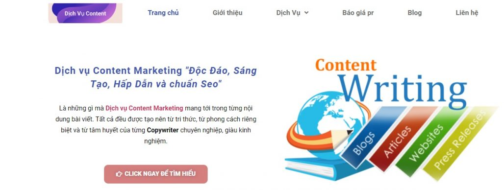 Dịch vụ guest post DICHVUCONTENT.VN