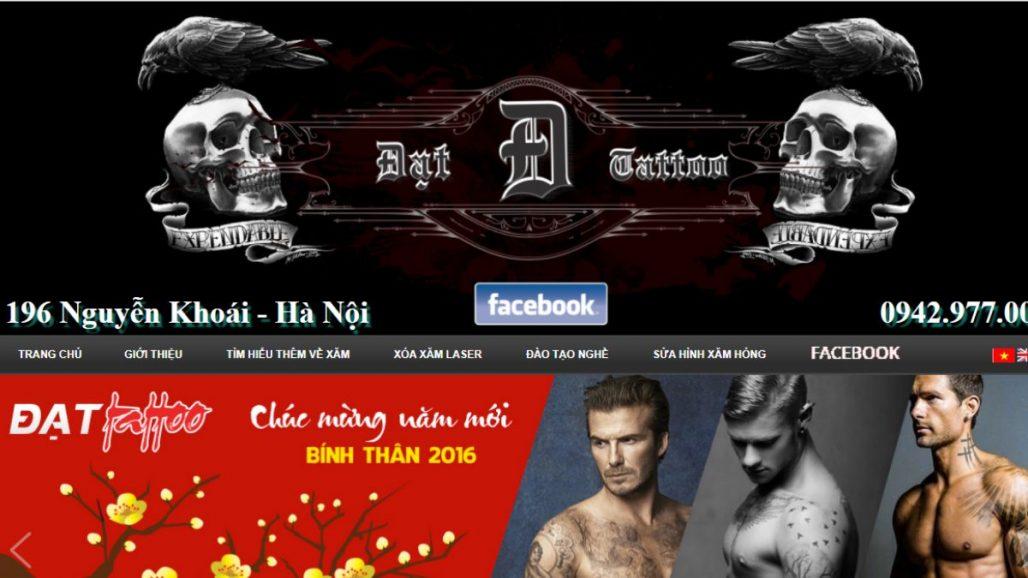 Top 10 dịch vụ xăm hình nghệ thuật uy tín tại Hà Nội