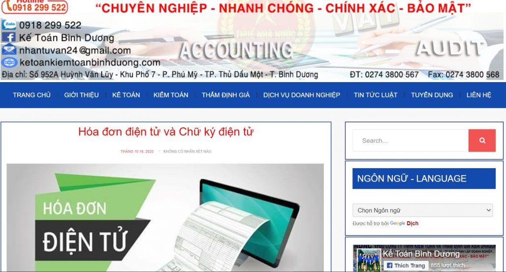 Công ty kế toán Asia Dragon