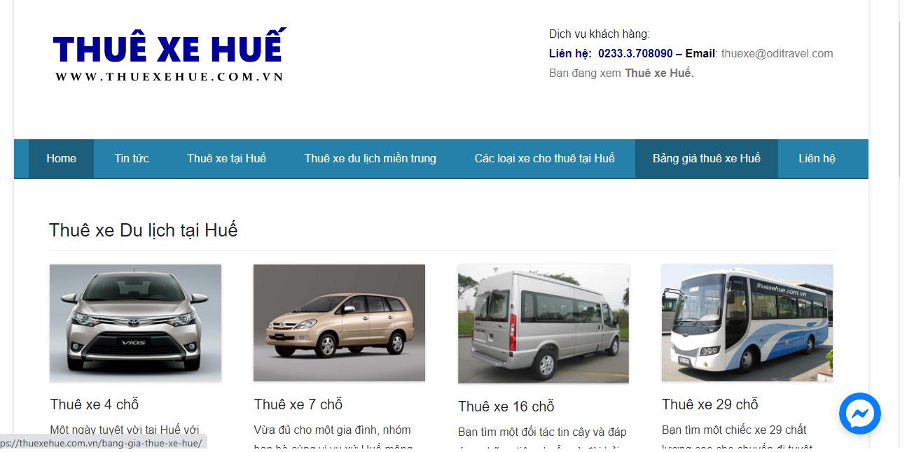 Công ty dịch vụ thuê xe LỮ HÀNH LAVANG