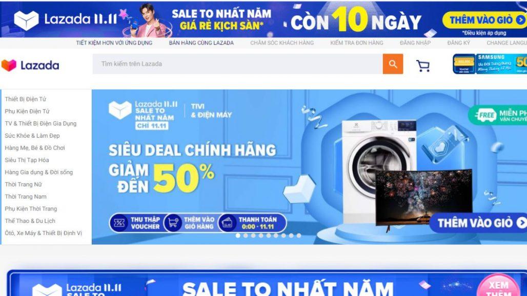 Top 10 website mua sắm uy tín nhất Việt Nam 2021