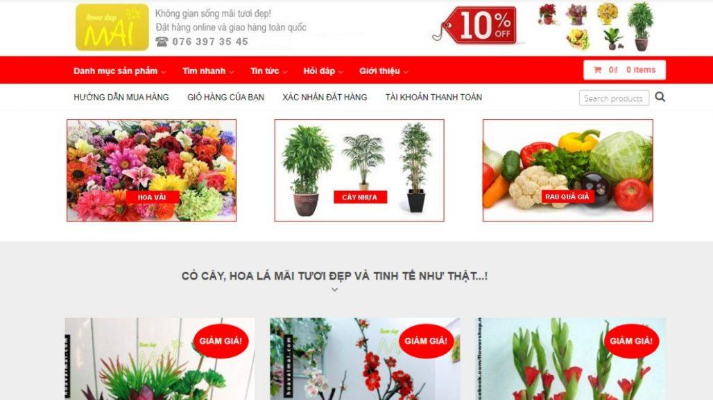 Top 10 shop bán hoa giả đẹp và uy tín nhất TPHCM 2021