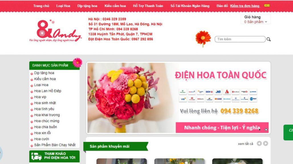 Top 10 shop bán hoa tươi uy tín nhất tại Hà Nội 2021