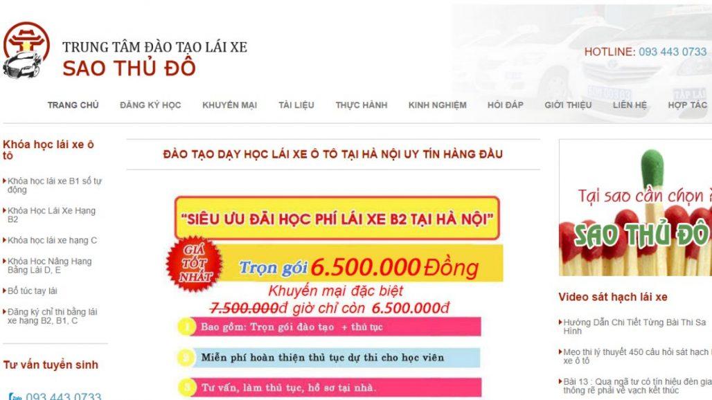 Top 10 Trung tâm đào tạo lái xe uy tín nhất tại Hà Nội 2021