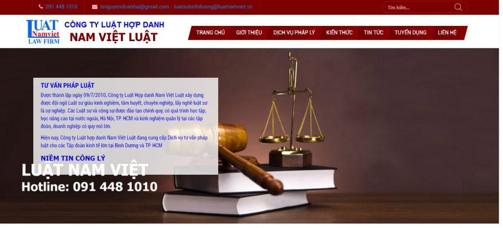 Công Ty Luật Hợp Danh Nam Việt Luật