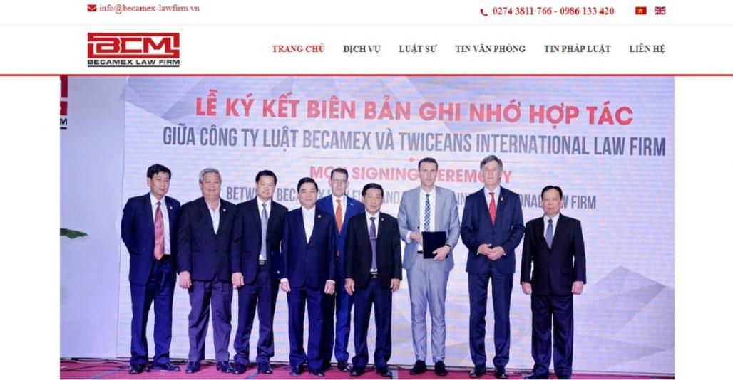 Công ty Luật B.C.M (Becamex Law Firm)