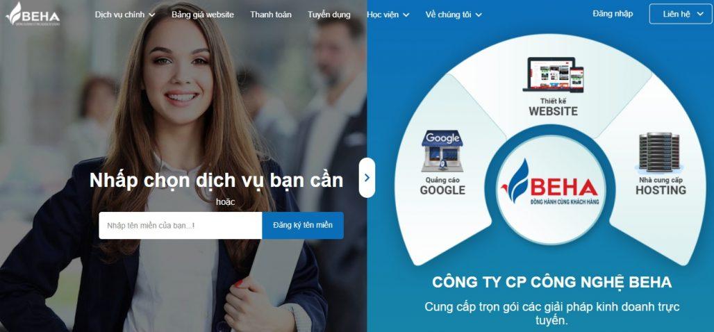 Công ty chạy quảng cáo Google Adwords Beha
