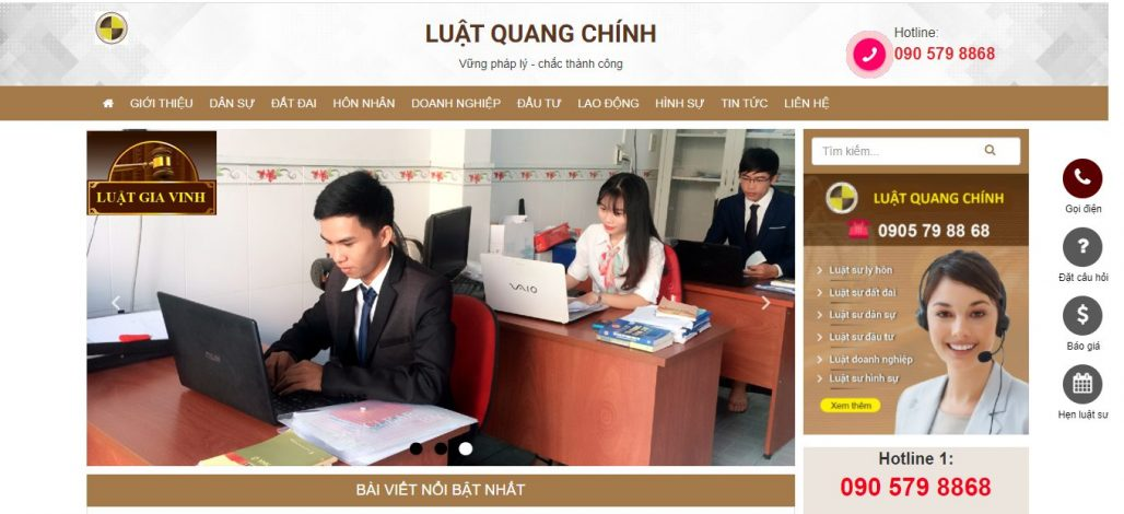 Công ty luật Gia Vinh